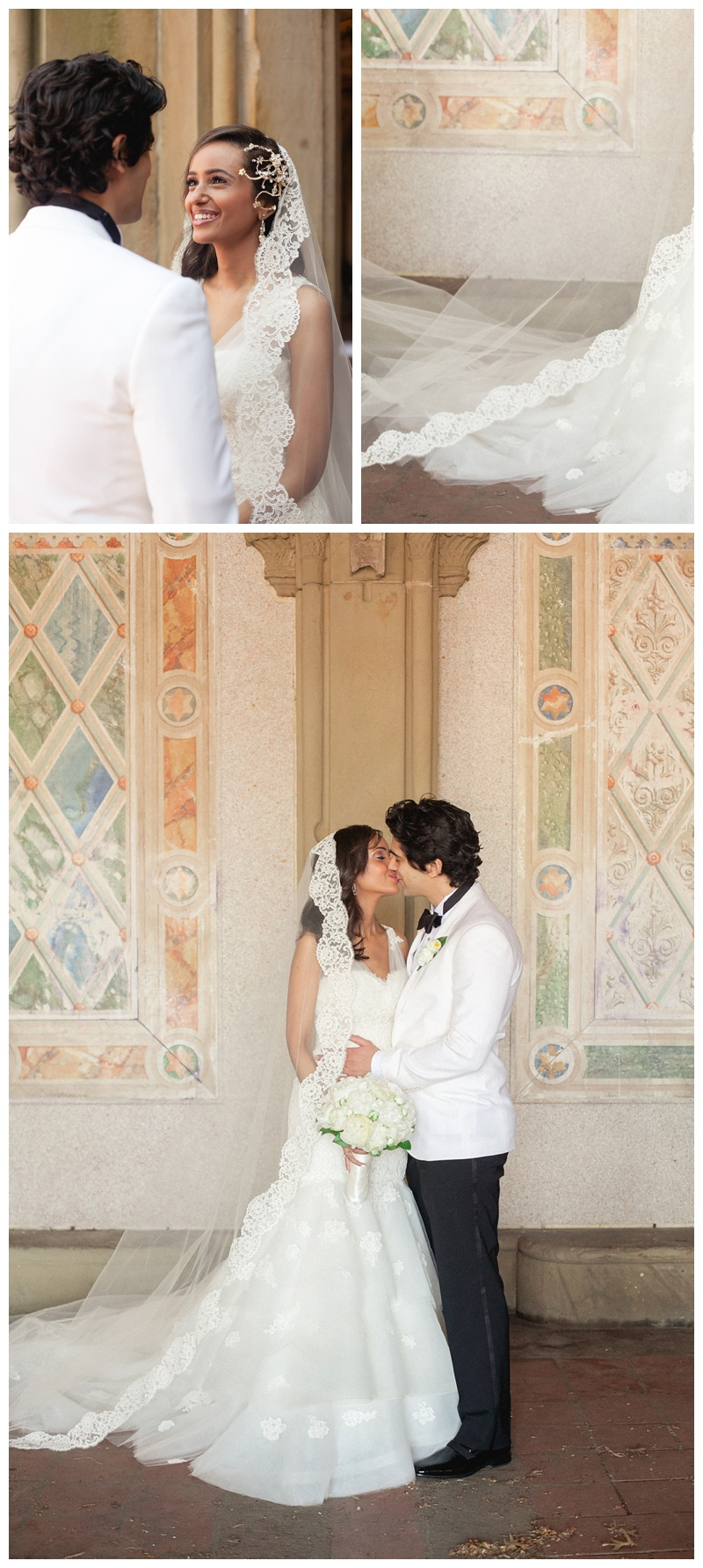 Bethesda Terrace Central Park Wedding Photography